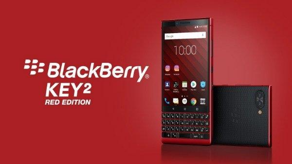 MWC 2019: 128GB स्टोरेज के साथ लॉन्च हुआ BlackBerry Key2 Red Edtion