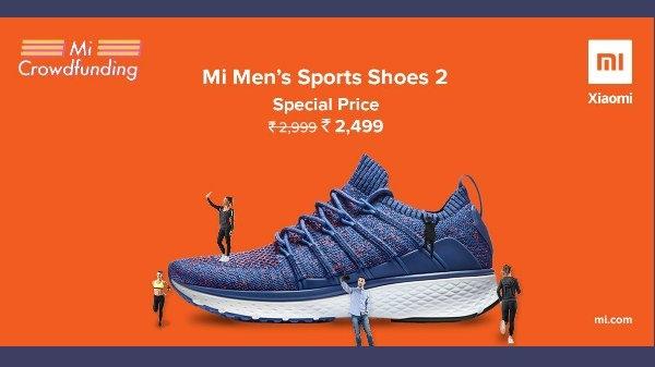 Xiaomi Mi Men's Sports Shoes 2 इंडिया में हुआ लॉन्च, जानिए कीमत और क्वालिटी
