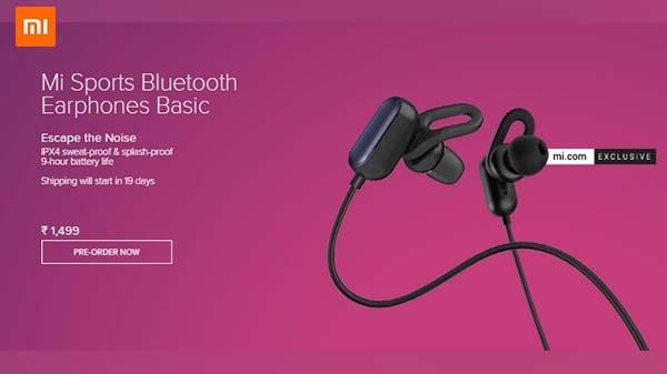Mi ने लॉन्च किया अपने स्टाइलिस और स्मार्ट Mi Sports Bluetooth Earphones