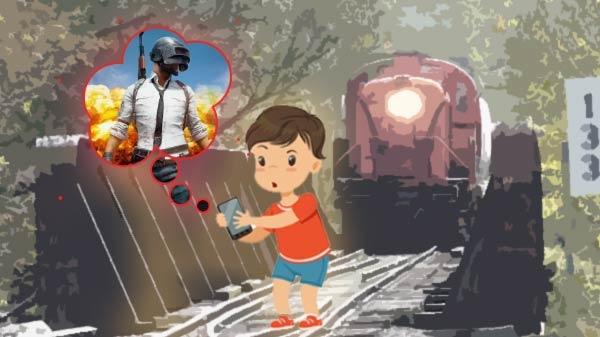 PUBG खेलते-खेलते ट्रेन की चपेट में आए दो युवक, दोनों की हुई मौत