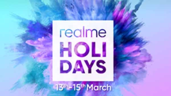 Realme के होली ऑफर का आज आखिरी दिन