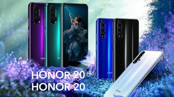 Honor 20 Pro हुआ लॉन्च, 4 कैमरा सेटअप वाला स्मार्टफोन