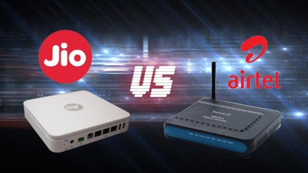 Jio Gigafiber vs Airtel Broadband: कौनसा इंटरनेट सर्विस होगा सबसे अच्छा...?