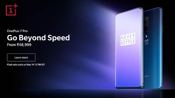 OnePlus 7 Pro की बिक्री कुछ ही देर में होगी शुरू, जल्दी करें!