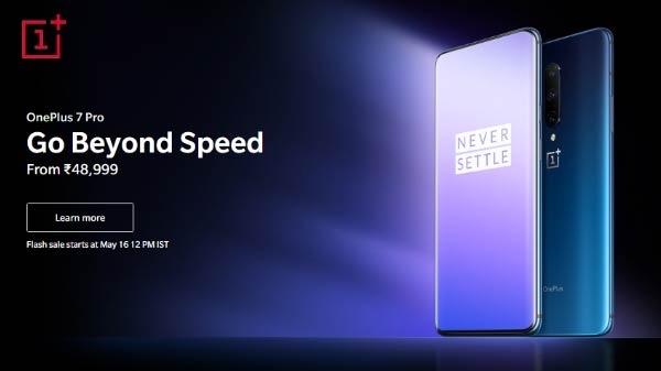 OnePlus 7 Pro Nebula Blue का वेरिएंट आज 12 बजे से बिक्री के लिए हुआ उपलब्ध