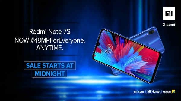 Redmi Note 7S: अब हर कोई कभी भी खरीद सकता है 48 MP कैमरा वाला स्मार्टफोन