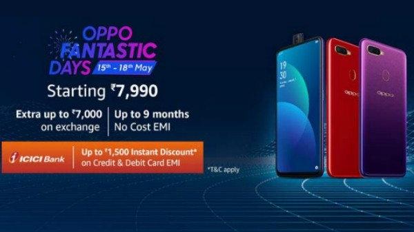 Oppo Fantastic Days सेल का दूसरा दिन, डिस्काउंट के साथ खरीदें स्मार्टफोन