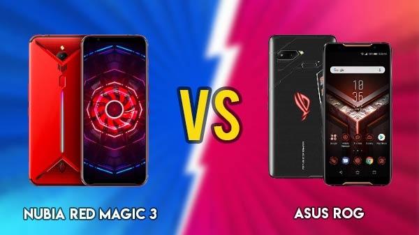 Nubia Red Magic 3 vs Asus ROG: दो बेस्ट गेमिंग स्मार्टफोन