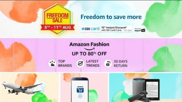 Amazon Freedom Sale के लिए हो जाओ तैयार, 8 से 11 अगस्त को होगी ऑफर्स की भरमार