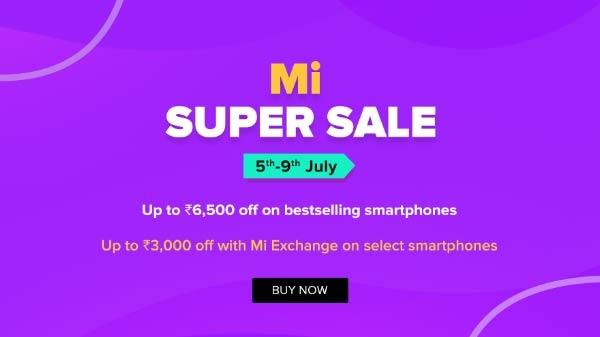Mi Super Sale का आज अंतिम दिन, 9000 रुपए तक का डिस्काउंट उपलब्ध