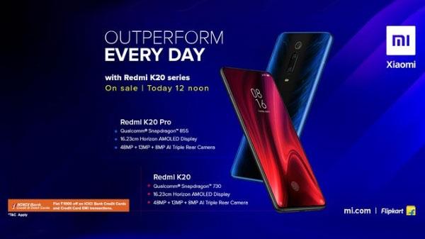 Redmi K20 सीरीज की फ्लैश 12 बजे से होगी शुरू, शाओमी का पहला फ्लैगशिप स्मार्टफोन