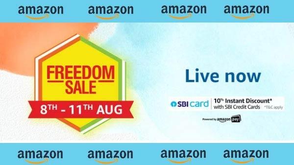 Amazon Freedom Sale 2019 आज से शुरू, 11 अगस्त तक सभी प्रॉडक्ट्स पर मिलेगा बेस्ट डिस्काउंट