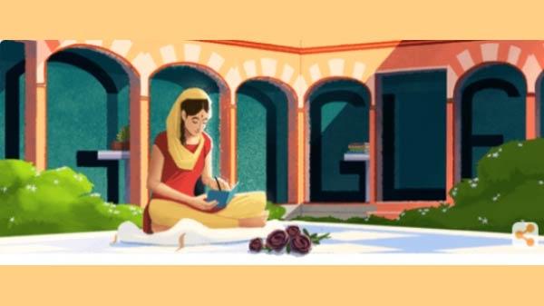 गूगल ने डूडल के जरिए मनाया अमृता प्रीतम का 100वां जन्मदिन