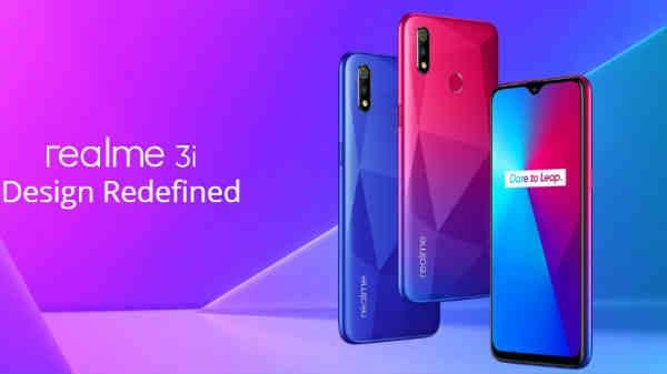 Realme 3i आज एक बार फिर बिक्री के लिए होगा उपलब्ध, 4GB रैम वाला सबसे सस्ता स्मार्टफोन