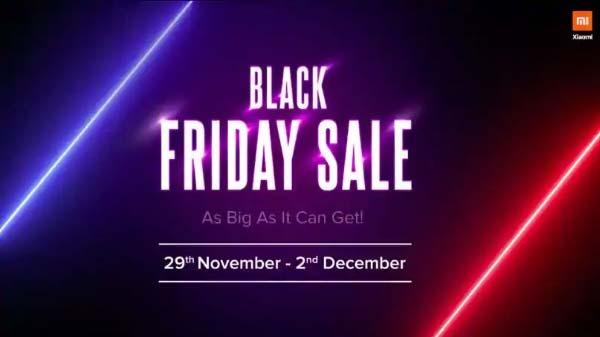 29 नवंबर को शुरू होगी शाओमी की Black Friday Sale, जानिए किन-किन पर क्या-क्या ऑफर्स