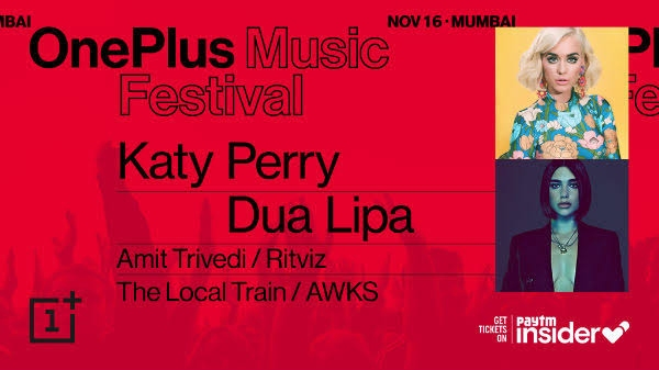 OnePlus Music Festival: 16 नवंबर को मुंबई में होगा सबसे बड़ा म्यूज़िक इवेंट