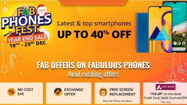 Amazon Fab Phones Fest:- जल्द उठाएं सस्ते में फोन पाने का लाभ