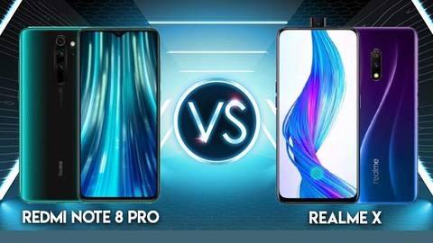 Redmi Note 8 Pro vs Realme X: इन दोनों फोन में कौनसा खरीदेंगे आप...?
