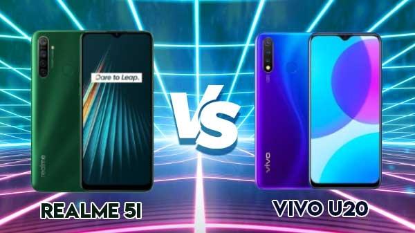 Realme 5i vs Vivo U20: इन दोनों फोन में किसे खरीदना बेहतर होगा...?