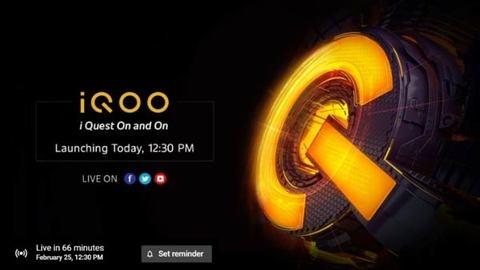 iQoo 3 अब से कुछ देर बाद होगा लॉन्च, यहां देखिए लाइव लॉन्च स्ट्रीमिंग