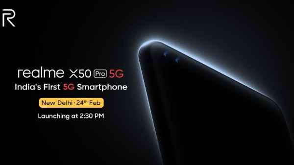Realme X50 Pro 5G: भारत का पहला 5G स्मार्टफोन आज होगा लॉन्च, यहां देखिए लाइव इवेंट