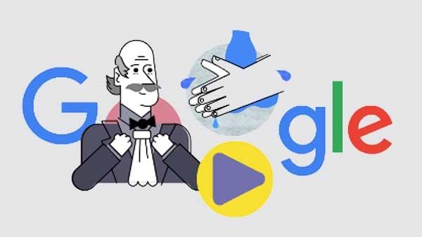 गूगल अपने डूडल में बता रहा है कोरोना वायरस से बचने का तरीका, आपने देखा क्या...?