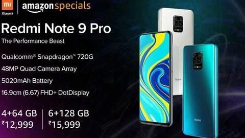 Redmi Note 9 Pro की आज पहली बार होगी बिक्री, दोपहर 12 बजे से शुरू होगा सेल