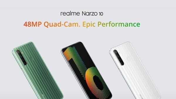 Realme Narzo 10 कल एक नए वेरिएंट के साथ फ्लैश सेल में होगा पेश, जानिए ऑफर्स और डीटेल्स
