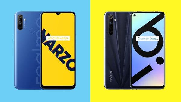 Realme 6i and Realme Narzo 10A की बिक्री, बहुत सारे ऑफर्स से भरपूर