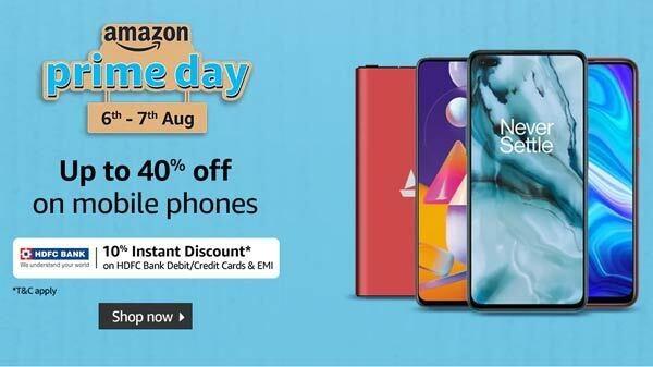 Amazon Prime Day 2020 Sale: पाँच टॉप स्मार्टफोन पर बेस्ट ऑफर्स और डिस्काउंट