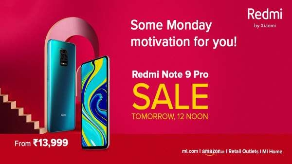 Redmi Note 9 Pro: कल ऑनलाइन और ऑफलाइन दोनों प्लेटफॉर्म्स पर होगी बिक्री