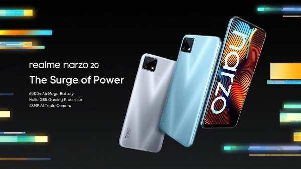 Realme Narzo 20 और Realme Narzo 20A हुआ लॉन्च, कैमरा, बैटरी, डिजाइन, कीमत और बिक्री