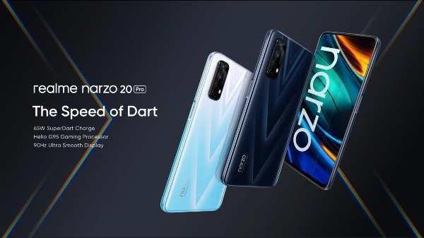 Realme Narzo 20 Pro: 65W सुपरडार्ट फास्ट चार्ज और अल्ट्रा स्मूथ डिस्प्ले के साथ हुआ लॉन्च