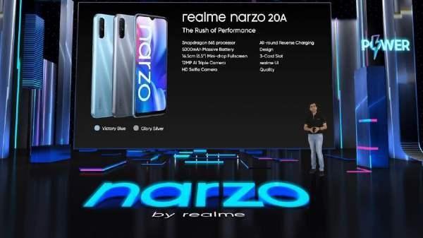 Realme Narzo 20A की आज पहली सेल, जानिए कीमत, ऑफर्स और सभी फीचर्स