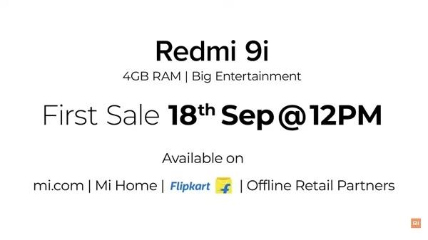 Redmi 9i भारत में हुआ लॉन्च, बजट रेंज में 4 जीबी रैम समेत कई खास फीचर्स