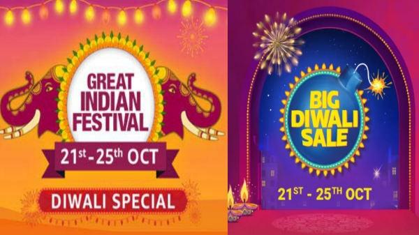 Flipkart Big Diwali Sale और Amazon Great Indian Festival: आप कहां से करेंगे शॉपिंग...?