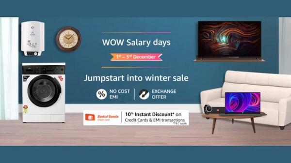 Amazon Wow Salary Days Sale का आज अंतिम दिन, लैपटॉप पर मिलेगा बेहतरीन डिस्काउंट