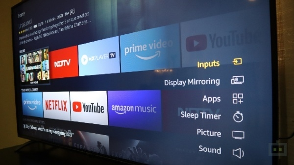 Amazon Basic 55 inch UHD Smart TV: fit in budget, features a hit