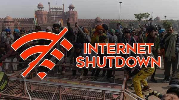 किसान आंदोलन की वजह से दिल्ली-हरियाणा में इंटरनेट सेवा बंद