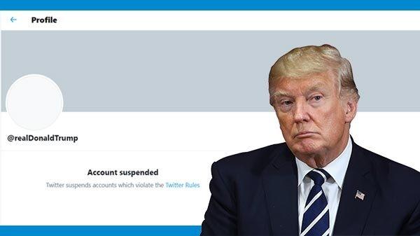 ट्विटर ने हमेशा के लिए सस्पेंड किया डोनाल्ड ट्रंप का ट्विटर अकाउंट