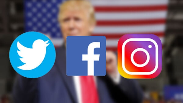 Twitter, Facebook and Instagram suspend Trump account, warns for future