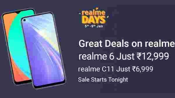 Realme Days सेल हुआ शुरू, अगले पांच दिन बेहतरीन स्मार्टफोन्स पर मिलेगा बेस्ट डिस्काउंट