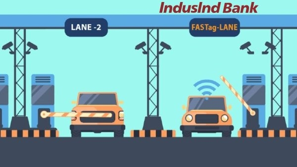 How to apply and recharge FASTag through Induslnd Bank