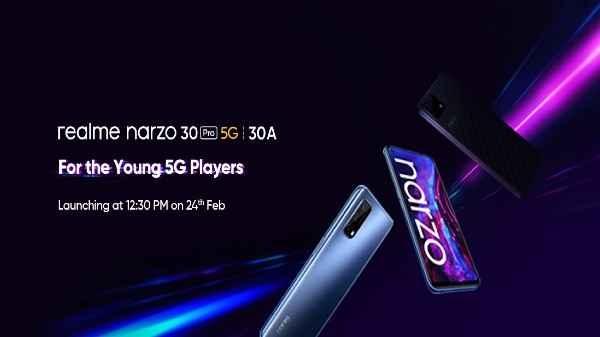 Realme Nazro 30 सीरीज के लॉन्च से पहले जानिए स्मार्टफोन्स की कीमत...!