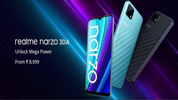Realme Nazro 30A हुआ लॉन्च, जानिए डिस्प्ले, कैमरा, कीमत बैटरी और बिक्री