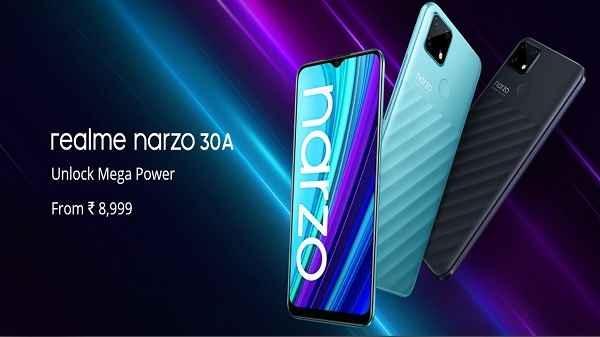 Realme Narzo 30A की आज पहली सेल, कई ऑफर्स और डिस्काउंट के साथ