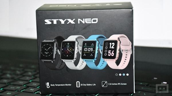 STYX Neo: ये है फुल टच कंट्रोल के साथ बजट स्मार्टवॉच