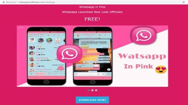 What is WhatsApp Pink and how does it steal users' personal information ...?