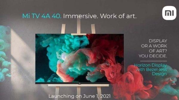 इस दिन लॉन्च होगी Xiaomi Mi TV 4A 40 Horizon Edition, मिलेंगे ये फीचर्स