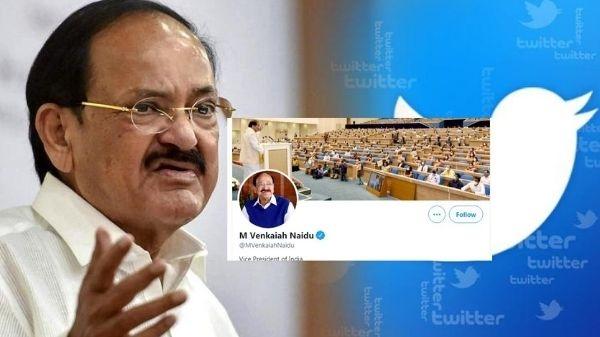 Twitter ने वापस लगाया वेंकैया नायडू के पर्सनल हैंडल पर Blue Tick
